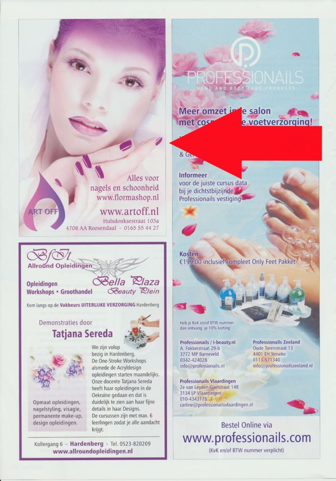 Nail Design Magazine Holland Mai 2010
