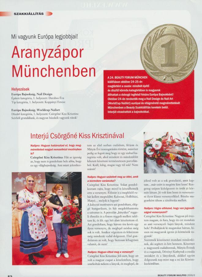 Nailpro Ungarn Juni 2006 1. Plätze Darabos und Koppanyi Seite 1