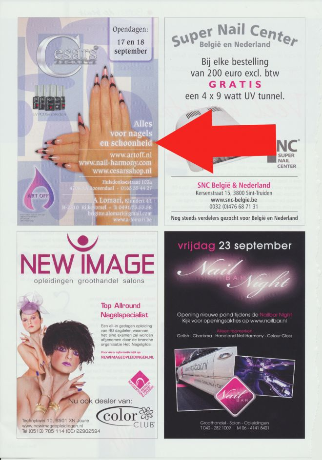 Nail Design Magazine Holland Deptember 2011